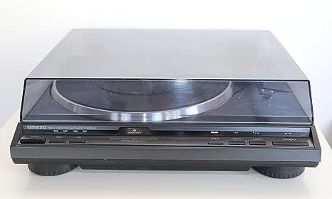 Onkyo CP 1500 F Tocadiscos en negro: Amazon.es: Electrónica