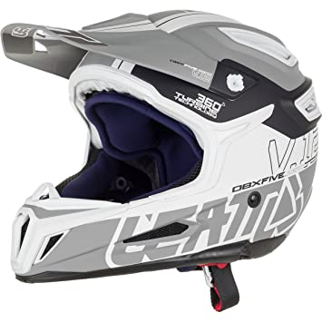 Leatt Dbx 5.0 V12 adulto off-road/Motocross casco de moto, color gris