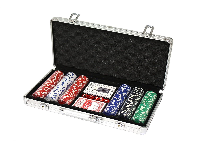 Huangguan mh161145–Set de Poker Professionnel Noir