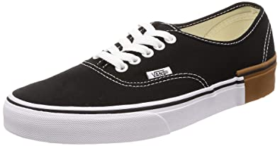 44eea8618ebc17 Vans Authentic (Gum Block) Black Size 5.5 M US Women   4 M US