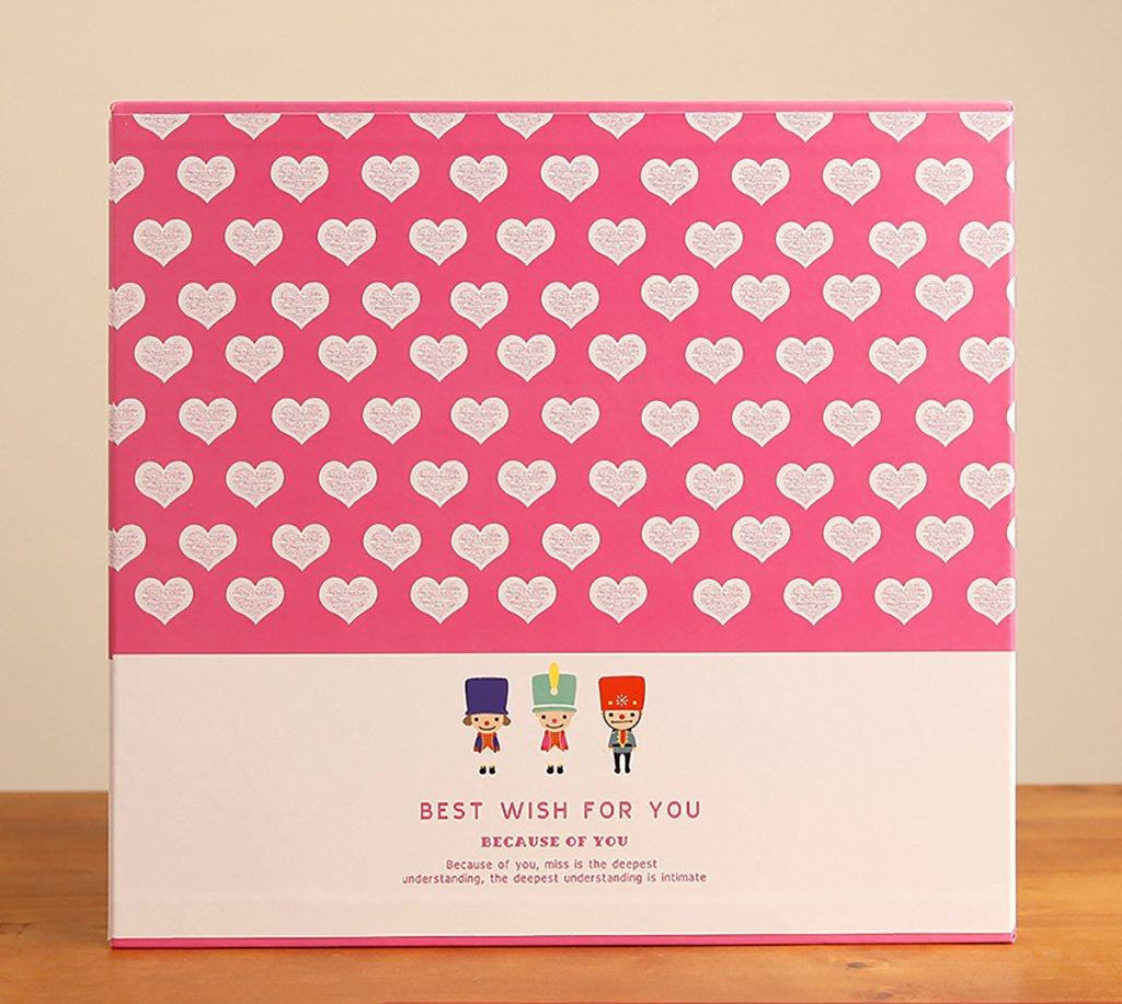 SESO UK- Kreatives Fotoalbum, Hochzeitsjubiläums-Album, für 608 Fotos