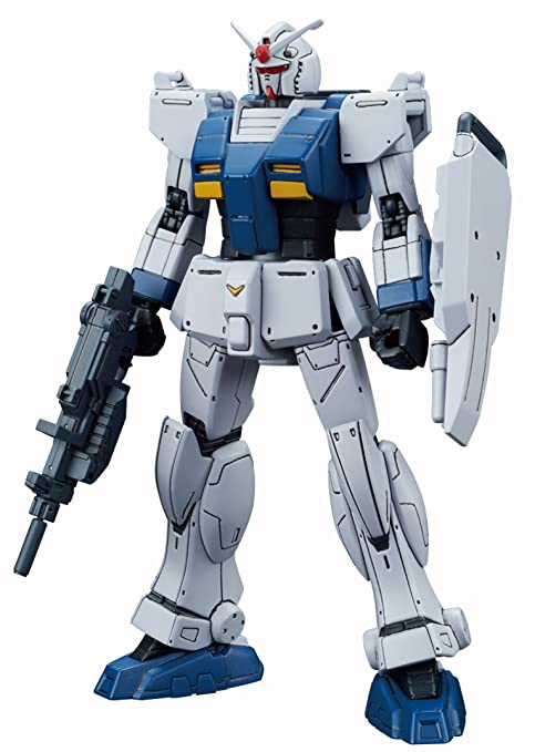 Bandai Hobby HG The Origin Gundam Local Type Gundam The Origin Building Kit  (1/144 Scale)