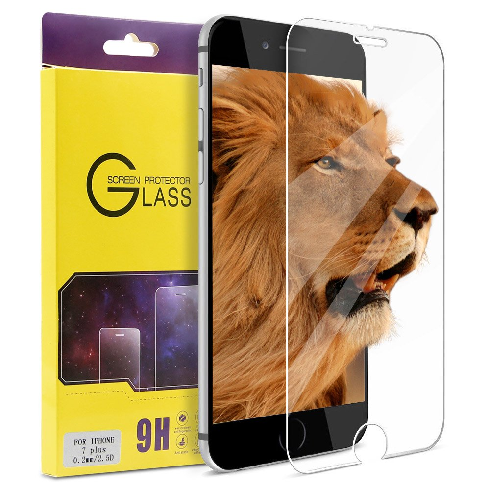 Iphone 7 Plus Screen Protector Atgoin Tempered Glass [0.2Mm 2.5D][No Bubble] .. 18