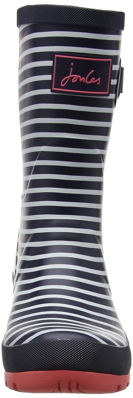 Joules Women's Molly Welly Rain Boot B01M698EJO Stripe 10 B(M) US|Navy Mini Stripe B01M698EJO adea02