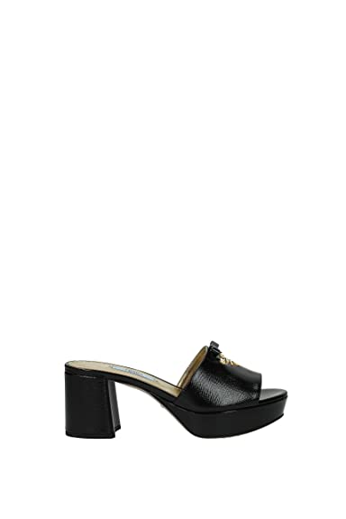 a25c8365f Prada Sandals Women - Patent Leather (1XP888VERNICESTSAF) UK  Amazon.co.uk   Shoes   Bags