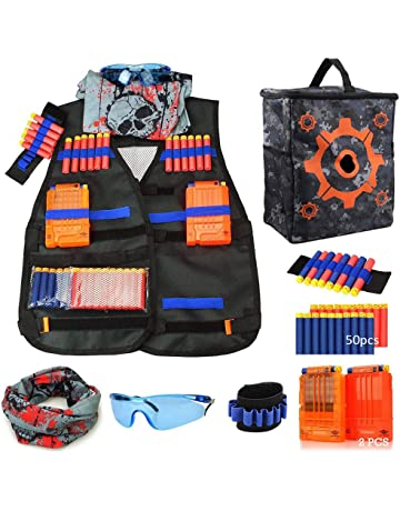 Outdoor Horse Riding Vest Security Guard Children Kids Black Tactical Vest Jacket Waistcoat Tool Holder Toy Clip Darts A Wide Selection Of Colours And Designs Back To Search Resultssports & Entertainment