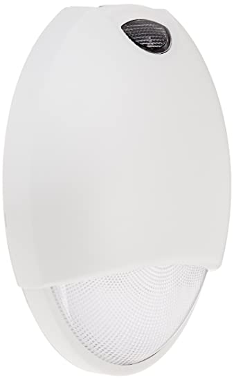 Royal Pacific Rel7wh Outdoor Emergency Light With Sensor White