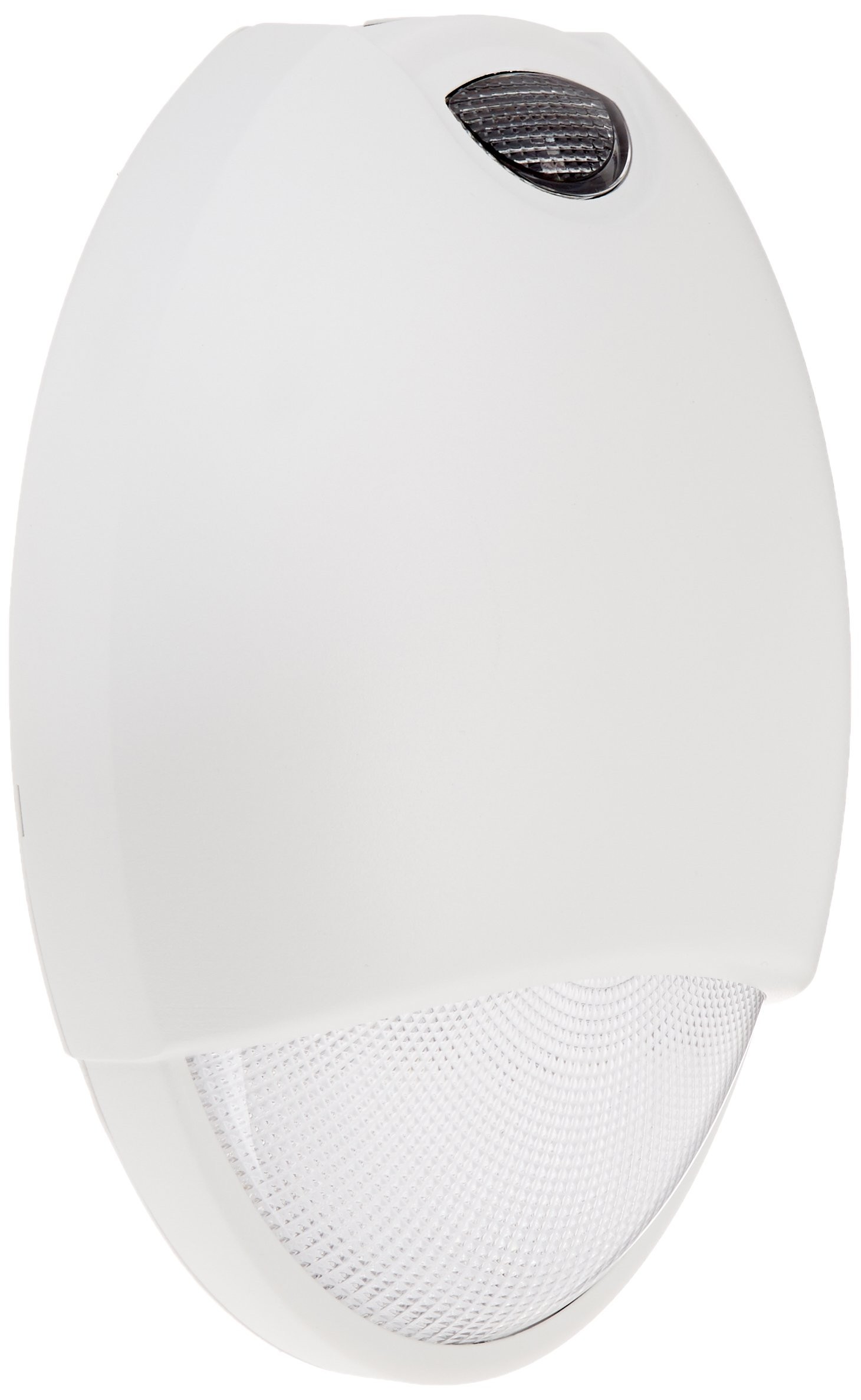 Royal Pacific REL7WH Outdoor Emergency Light with Sensor, White