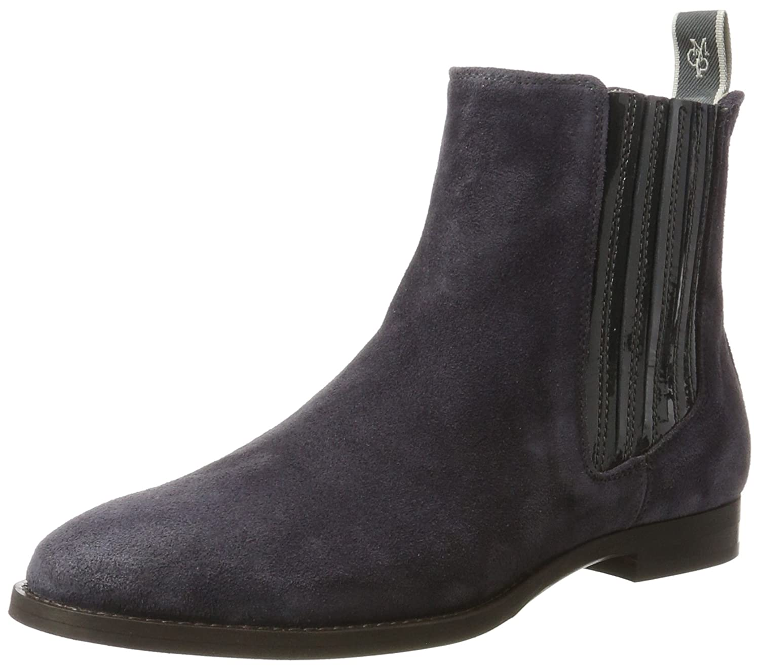 Womens Mid Heel Chelsea 70814215101123 Slouch Boots Marc O'Polo 8A2qW