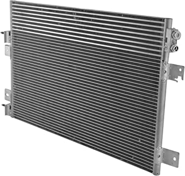 AC Condenser A//C Air Conditioning with Trans Oil Cooler for Chrysler Dodge Jeep