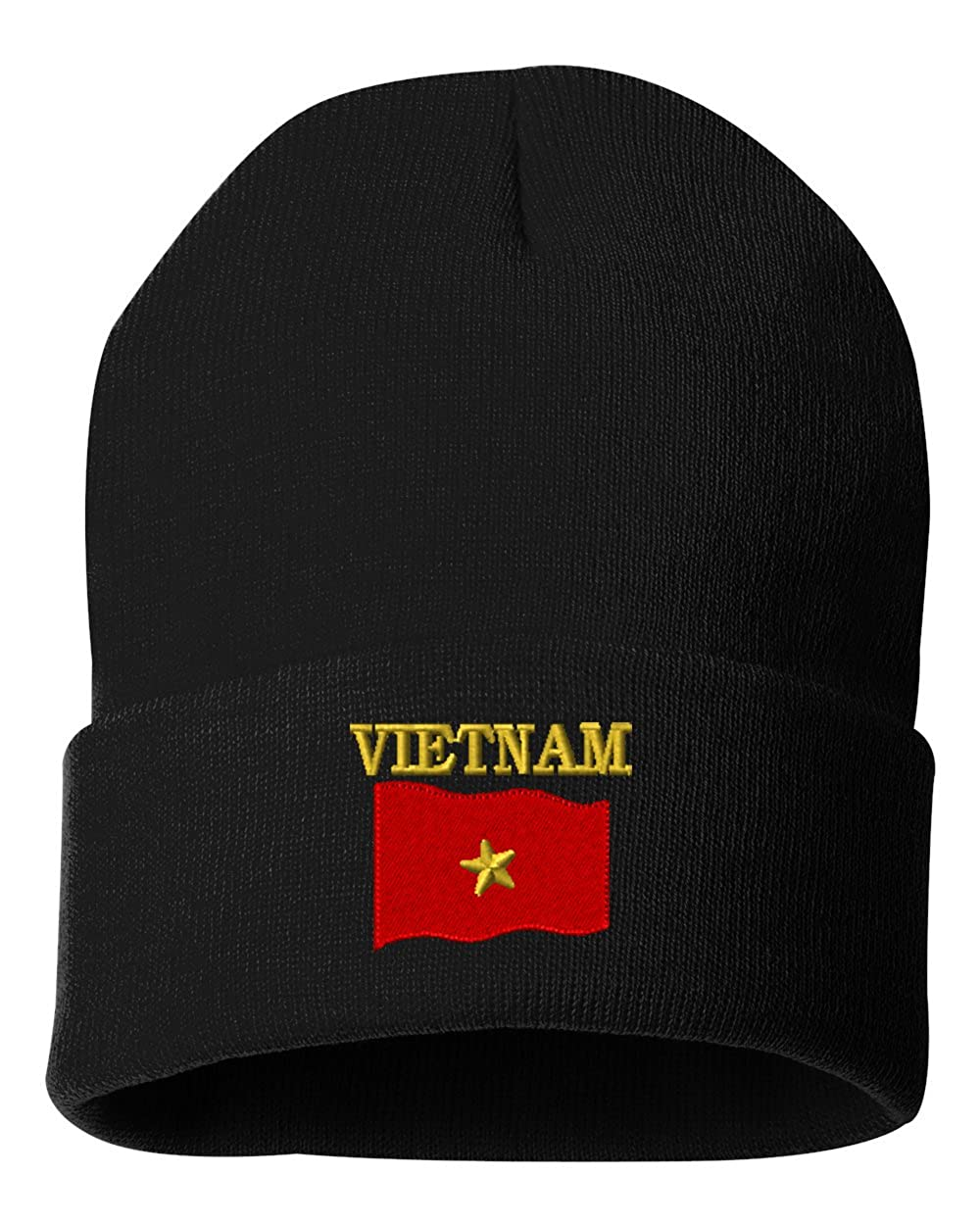 VIETNAM COUNTRY FLAG Custom Personalized Embroidery Embroidered Beanie