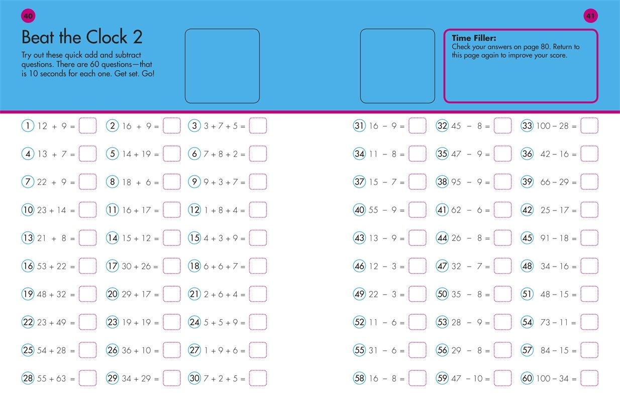 10 Minutes a Day: Math, Third Grade: Supports National Council of Teachers  Math Standards (Math Made Easy): DK: 0790778017170: Amazon.com: Books