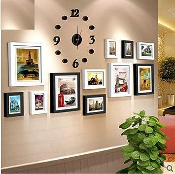 QPLA@inklusive Zubehör / Foto Collage / Bildergalerie / Bilderrahmen Set 11  Kasten