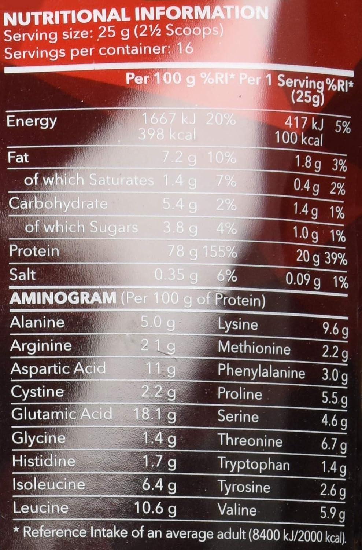 Prozis 100% Real Whey Protein 400 g: Suplemento puro en polvo. Disfruta del batido con sabor a Galletas y crema más delicioso del mercado.