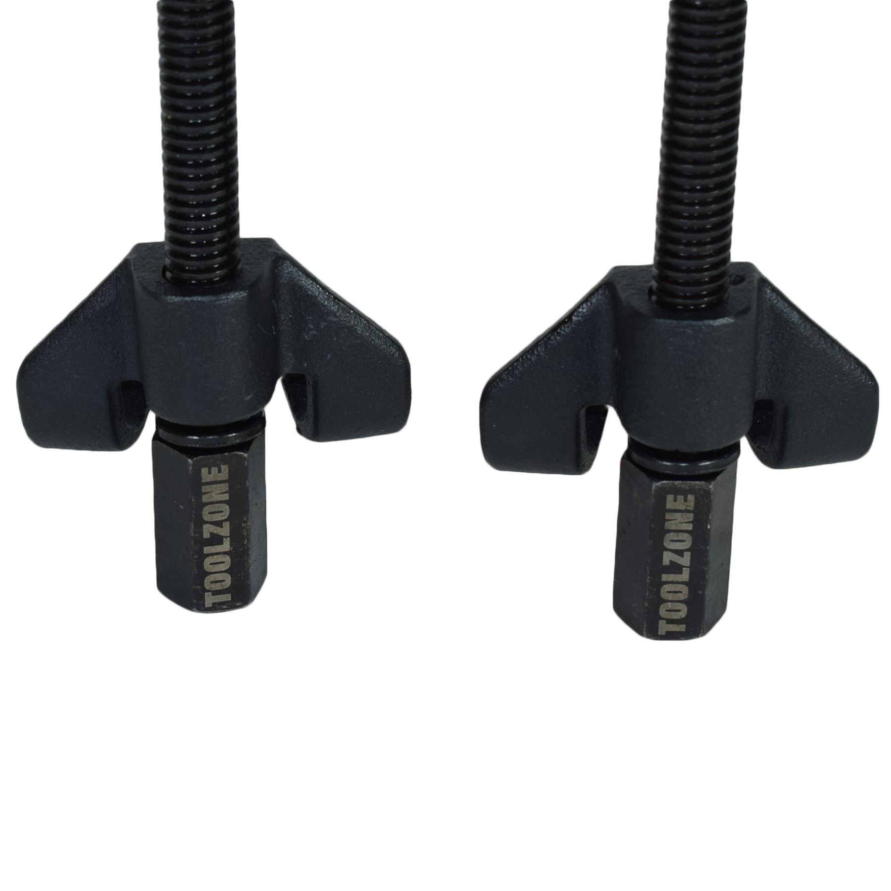 AB Tools-Toolzone 370 x 82mm Coil Spring Compressor Twin Hook Clamp Suspension Struts Clasp by AB Tools-Toolzone (Image #2)