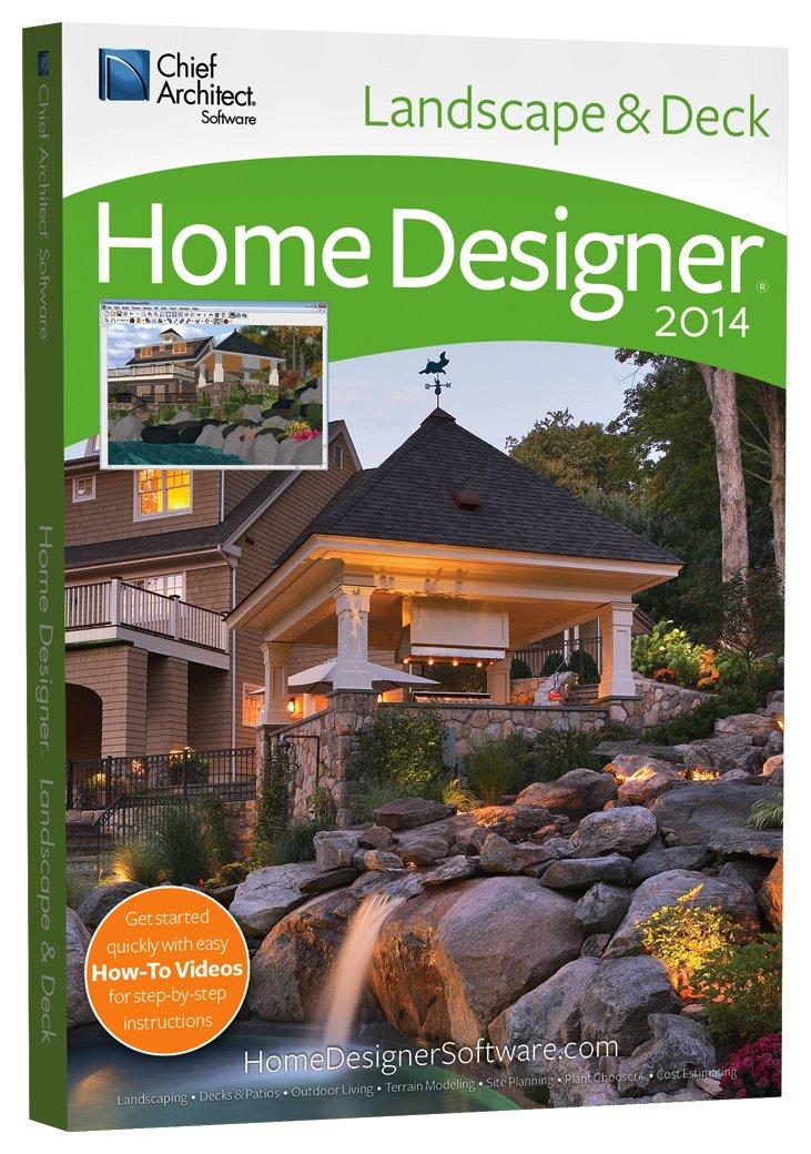 Amazon.com: Home Designer Landscape and Decks 2014 [Download]: