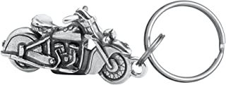 product image for DANFORTH - Motorcycle Keyring - Key Fob - Pewter - Handcrafted - Made in USA