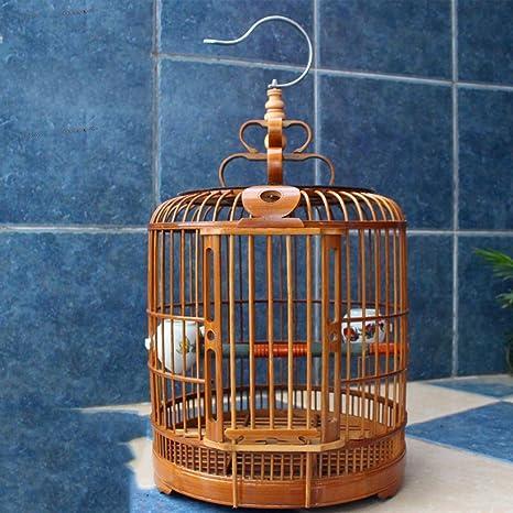 XCJ Jaula de Pájaros I Child - Jaula de Pájaros Bambú - Jaula de ...