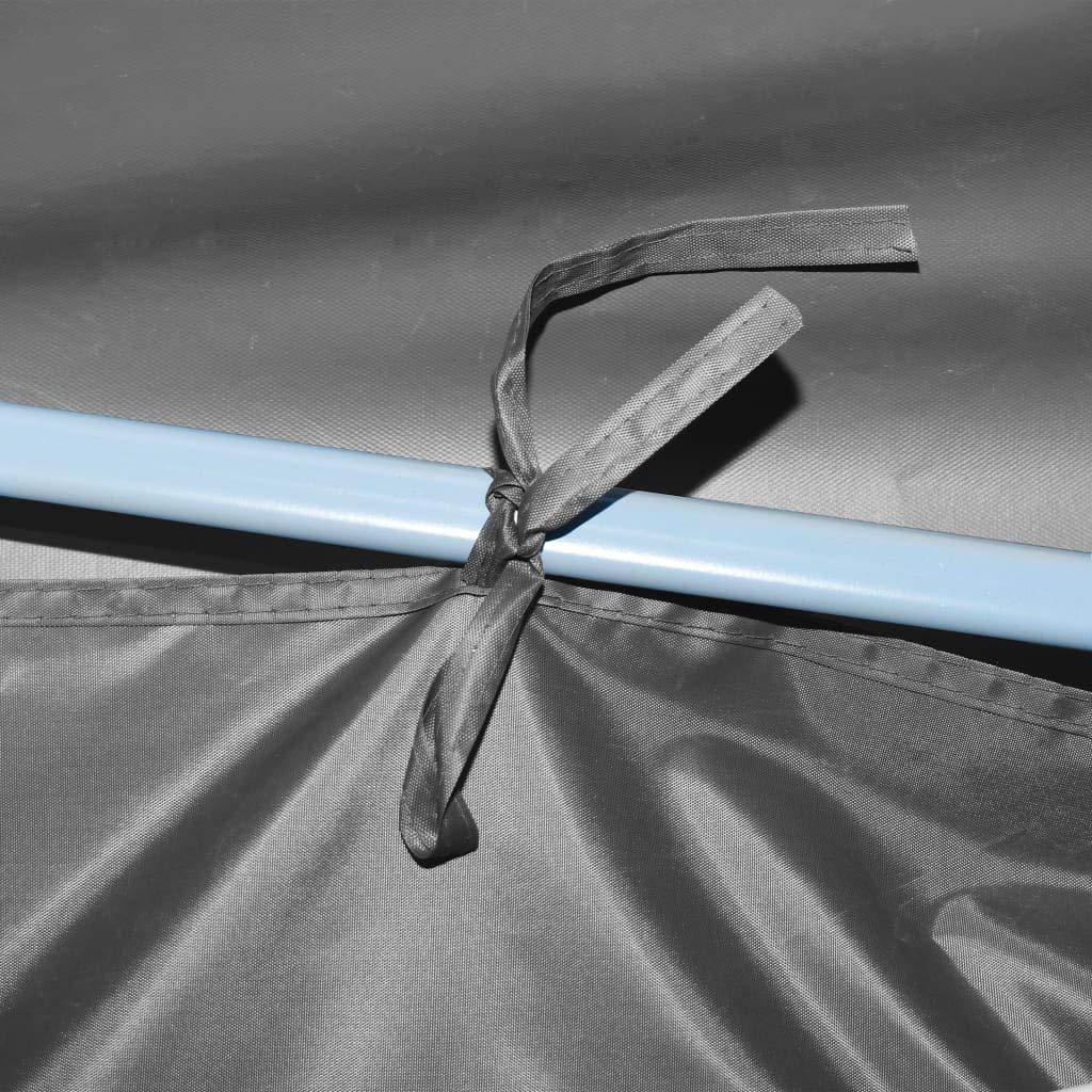 Tenda da Giardino Pieghevole//Retrattile Tenda di Cerimonia Tenda di Partito Impermeabile 3x9 m Tenda Pop-Up Pieghevole con 5 Pareti SOULONG Gazebo da Giardino Beige