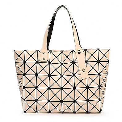 5fc97d49fa NEW Fashion Bao Bao Bag Women Tote Fold summer issey miyak Baobao Hand Bag  Laser Geometric