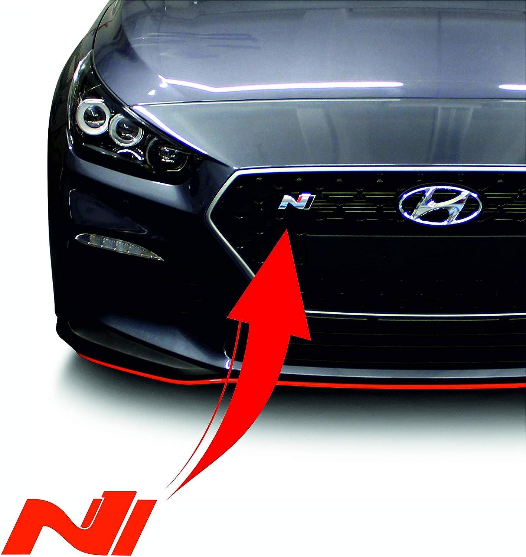 autoadesive K054 per auto Set di 2 pellicole per logo N anteriore e posteriore