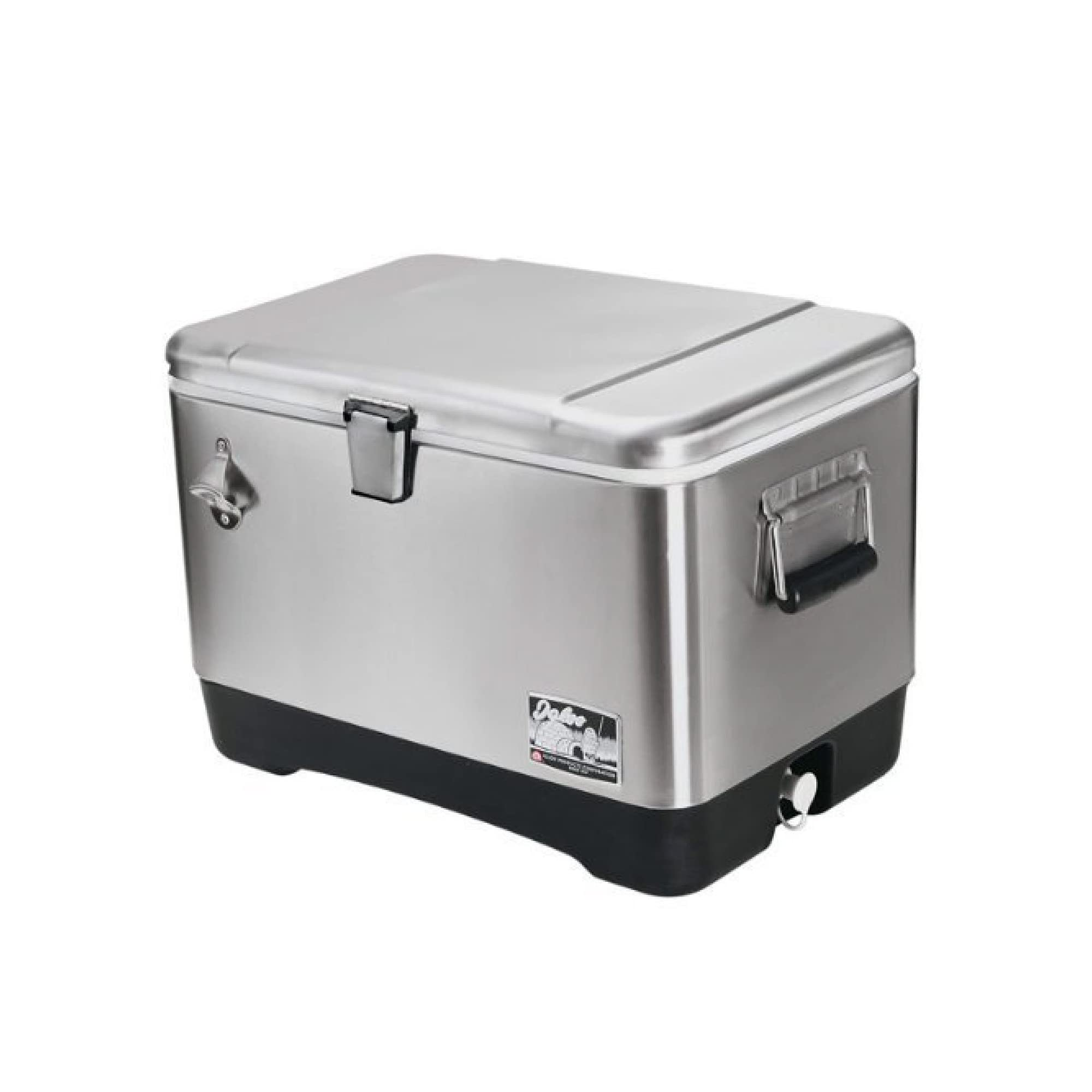 Deals on Igloo Stainless steel cooler (51L) # 44669, 54 quart
