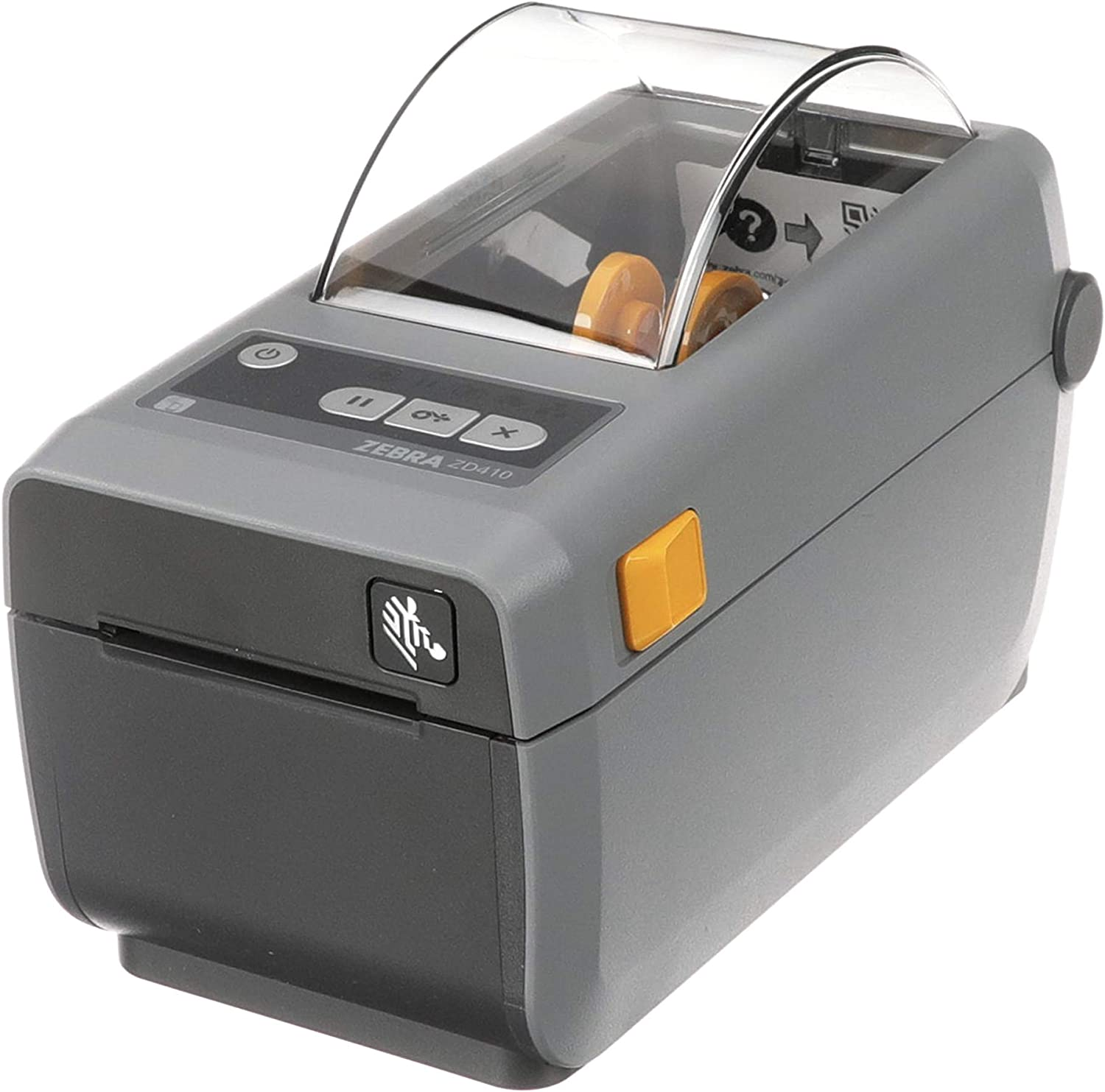 Zebra - ZD410 Direct Thermal Desktop Printer for labels, Receipts, Barcodes, Tags - Print Width of 2 in - USB, Ethernet Connectivity - ZD41022-D01E00EZ