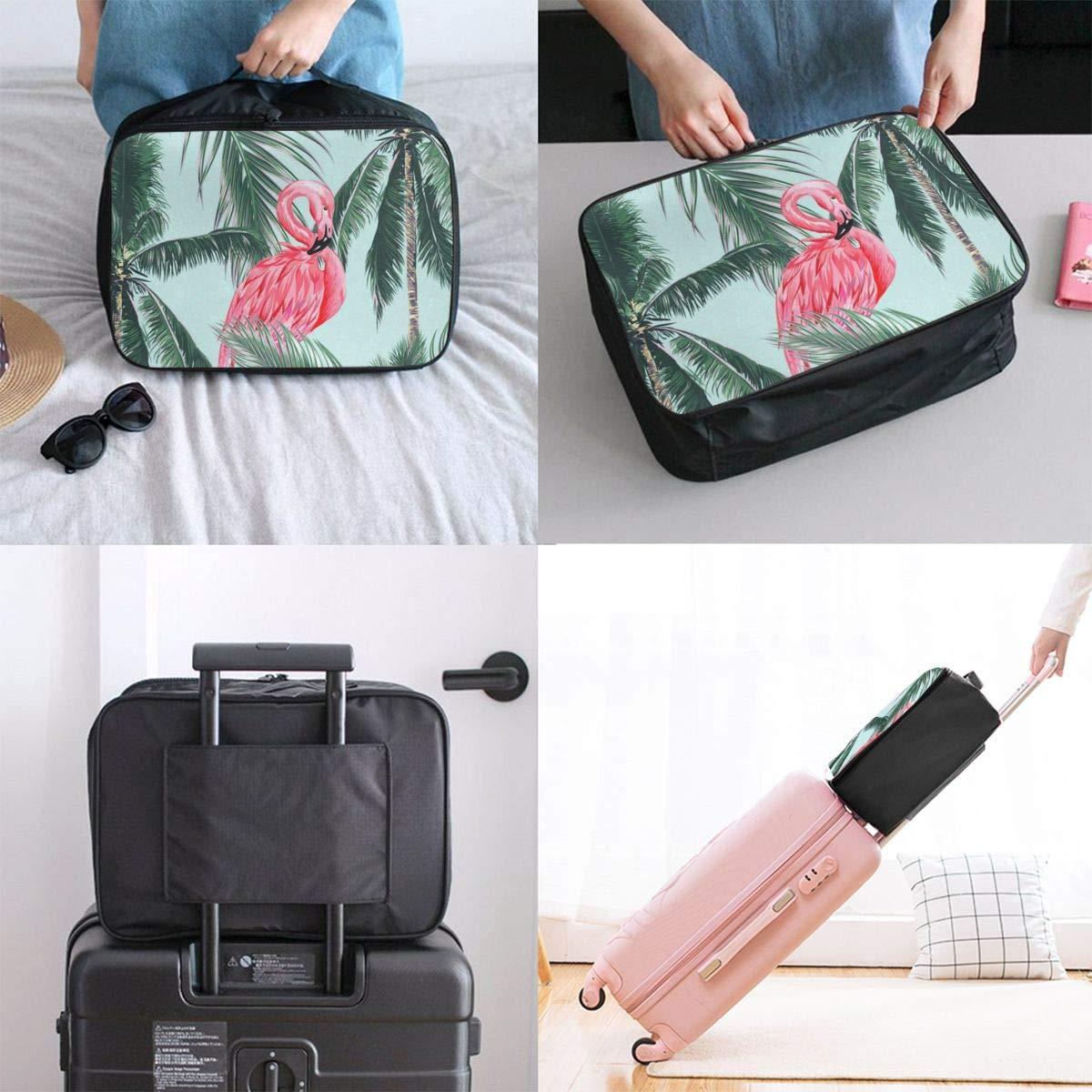 Travel Bags Pink Waterlily Lotus Flower On Pond Portable Duffel Great Trolley Handle Luggage Bag