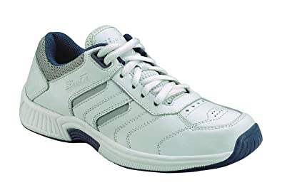 301a1bf51c Orthofeet Pacific Palisades Comfort Orthopedic Orthotic Mens Diabetic  Sneakers Leather White Leather 7 M US