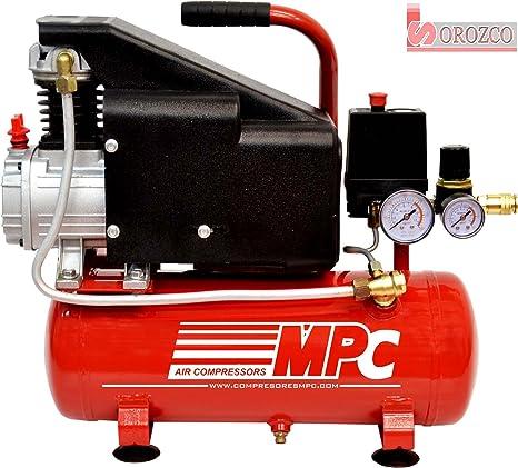 Compresor de aire 230v 1 cv 6 litros MPC CD-115