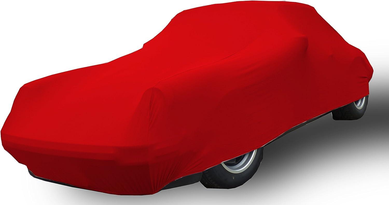 elegant formanpassend atmungsaktiv f/ür den Innenbereich Farbe Schwarz Car-e-Cover Autoschutzdecke Perfect Stretch