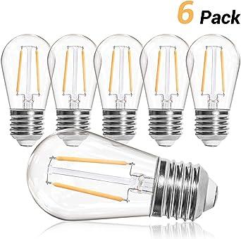 OxyLED S14 Bombillas LED de repuesto para luces de cadena de ...