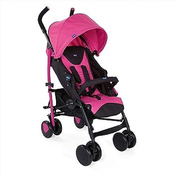 Chicco Echo Silla de paseo, ligera y compacta, soporta hasta 22kg, color rosa