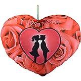Ultra Valentine Heart Shape Printed Cushion Pillow - I Love You