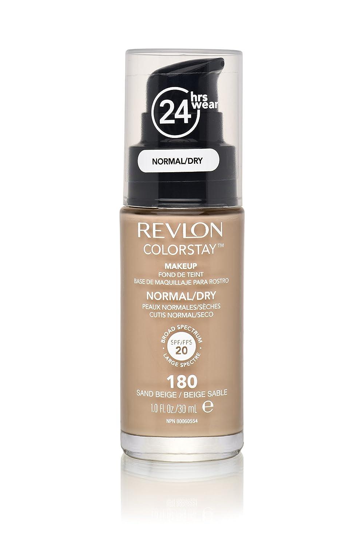 Revlon ColorStay Makeup, sand beige 180, 1er Pack (1 x 30 g) 309974677035