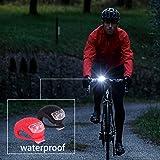 Awpeye 8 Pack Bicycle Light, Silicone LED Bike