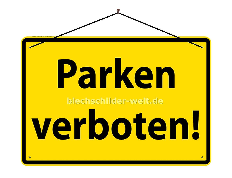 BlechschilderWelt Cartel de Chapa de Advertencia: Prohibido ...