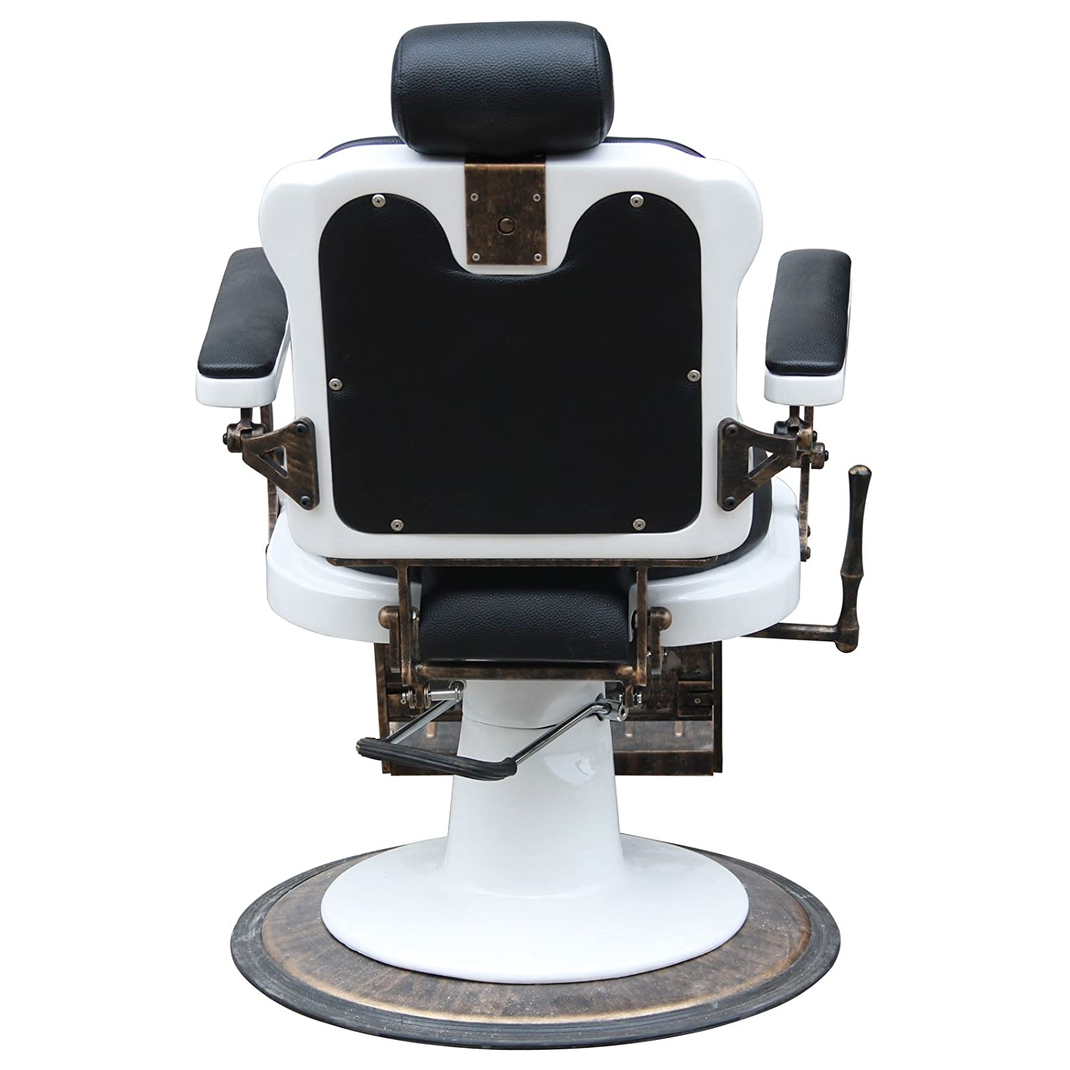 "Amazon ""Jefferson"" Vintage Reclining Hair Salon Barber Chairs"