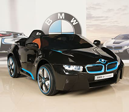 Amazon Com Bmw I8 12v Kids Ride On Battery Powered Wheels Car Rc