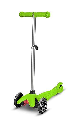 Buddy Toys- Patinetas de 3 Ruedas para niños, Color Verde ...