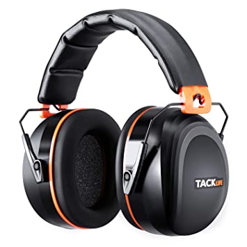 Amazon.com: Tacklife NRR - Auriculares de reducción de ruido ...