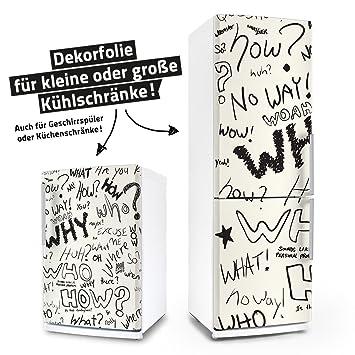 K/ühlschrank - - /& Geschirrsp/üler-Folie M/öbelfolie Aufkleber Dekorfolie Klebefolie Shabby Chic Blumenmuster