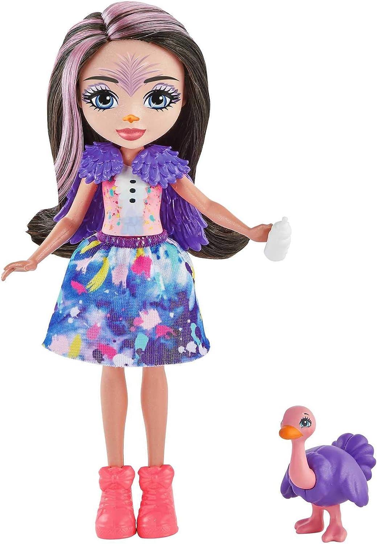 Mattel GYN57 Enchantimals Sunny Savanna Mu/ñeca con mascota y accesorios de juguete modelo surtido