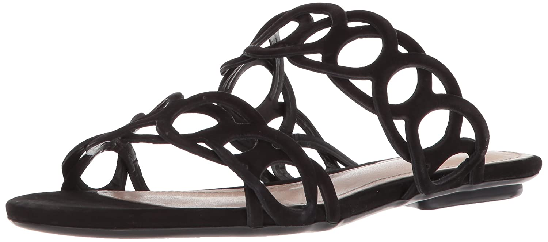 SCHUTZ Women's Yaslin Slide Sandal B07524F44P 9 B(M) US|Black