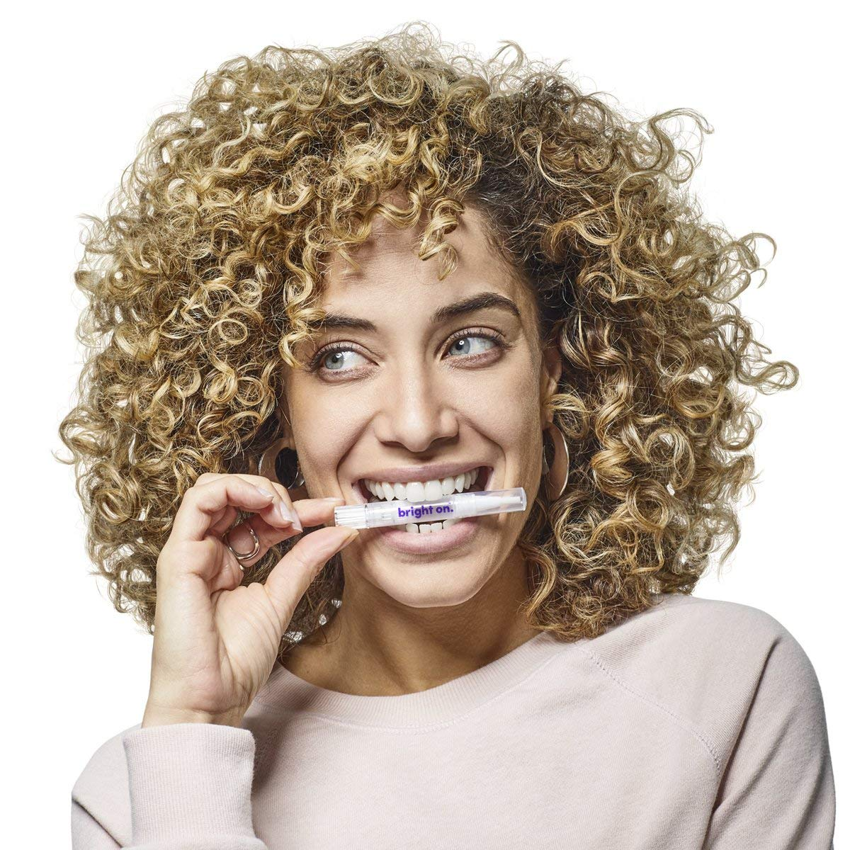 Smile Direct Club Teeth Whitening Kit with 9 Premium Hydrogen Peroxide Pens and 20-LED Accelerator Light, Brighten 3x Faster Than Strips - 12 Month Supply, USB, USB-C, microUSB & Lightning Adapter by SmileDirectClub (Image #7)