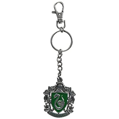 Noble Collection–Harry Potter: Slytherin Keyring: Toys & Games