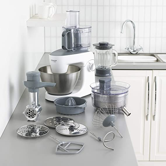 Kenwood KHH326 Robot de cocina, accesorios incluidos, 1000 W, 4.3 ...
