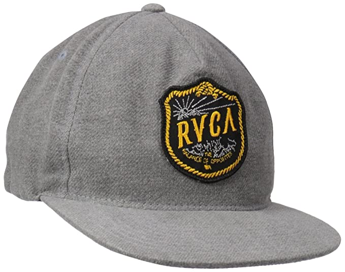 Amazon.com  RVCA Men s Range Five Panel Hat f63ed75135ab