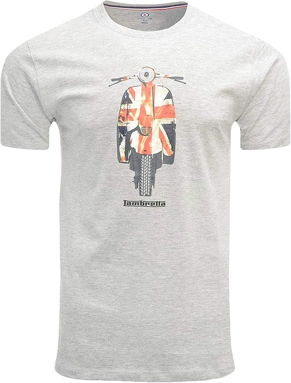 Lambretta Union Scooter tee Camiseta para Hombre: Amazon.es: Ropa y accesorios