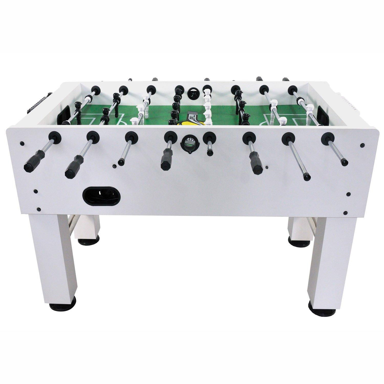 Limited Wei/ß Speedball Tischkicker Premium Kickertisch in Profi Turnier Ausf/ührung
